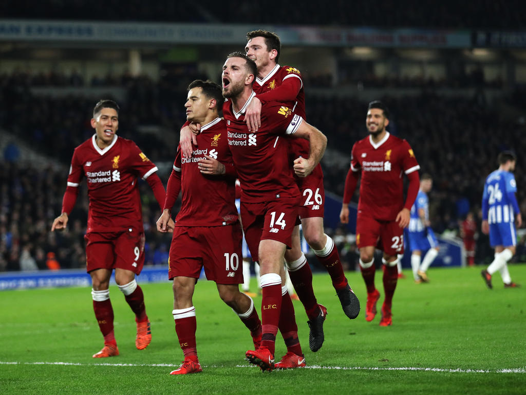 Die Reds lassen Brighton keine Chance