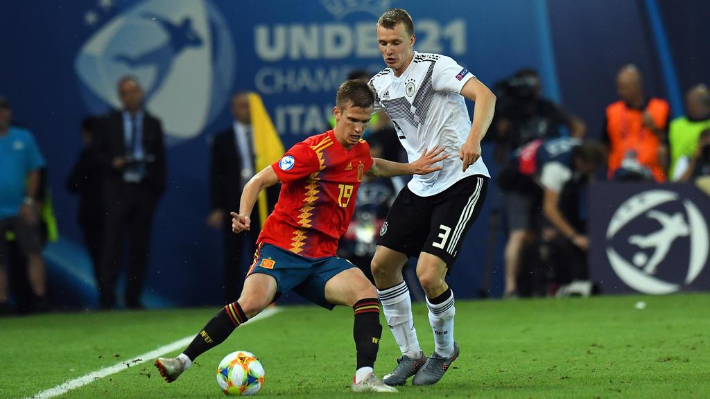 Dani Olmo gewann mit Spanien das Finale der U21-EM gegen Deutschland