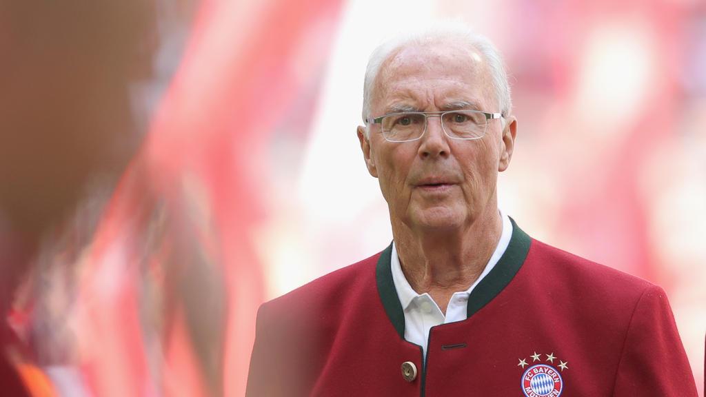 Der Gesundheitszustand von Franz Beckenbauer ist bedenklich