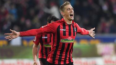 Nils Petersen sorgte mit seinem Goldenen Tor für den Freiburger Sieg