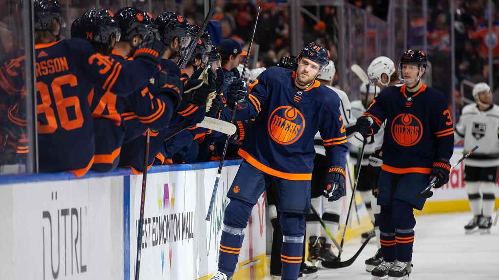 Leon Draisaitl ist wieder Top-Scorer der NHL