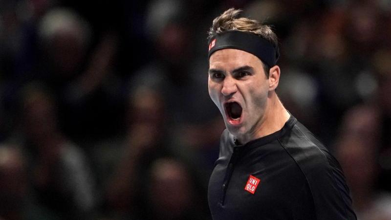 Der Schweizer Roger Federer wird auf einer 20-Franken-Silbermünze verewigt