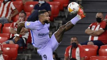 Memphis Depay erzielte den Treffer für den FC Barcelona