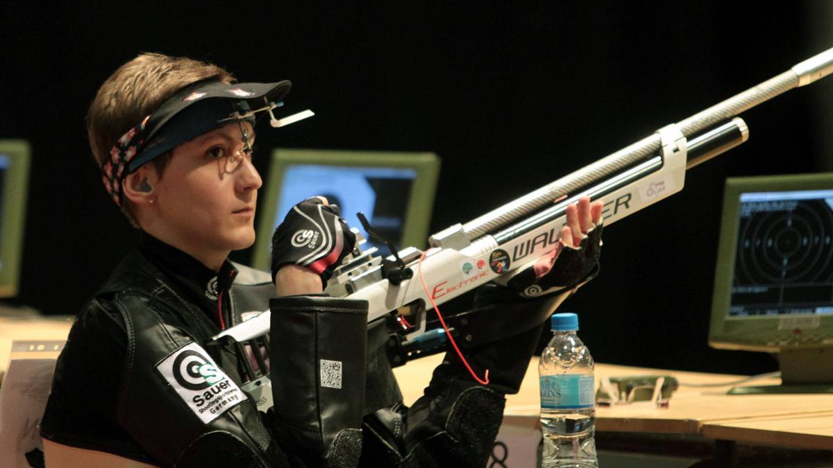 Natascha Hiltrop patzte mit dem letzten Schuss