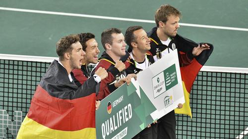 Deutschland ist für das Davis-Cup Finale qualifiziert