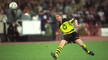 Lars Ricken gewann 1997 mit dem BVB die Champions League