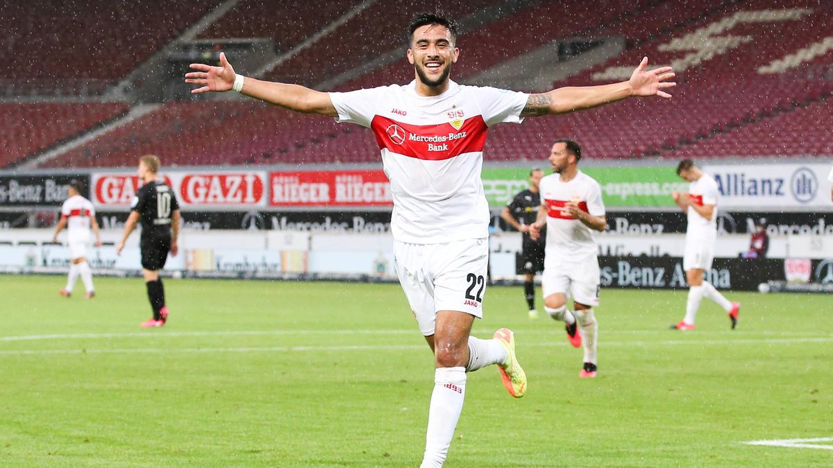 Nicolas Gonzalez traf doppelt für den VfB Stuttgart