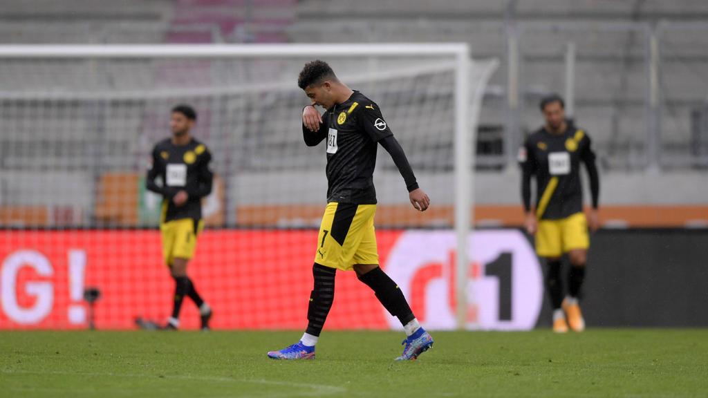 Jadon Sancho fehlt dem BVB gegen den FC Bayern München