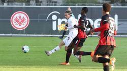 Frankfurt verliert das Testpiel gegen Nürnberg
