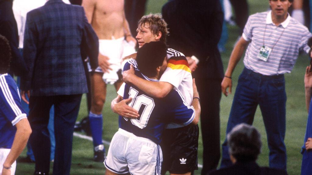 Guido Buchwald bewachte Diego Maradona im WM-Finale 1990
