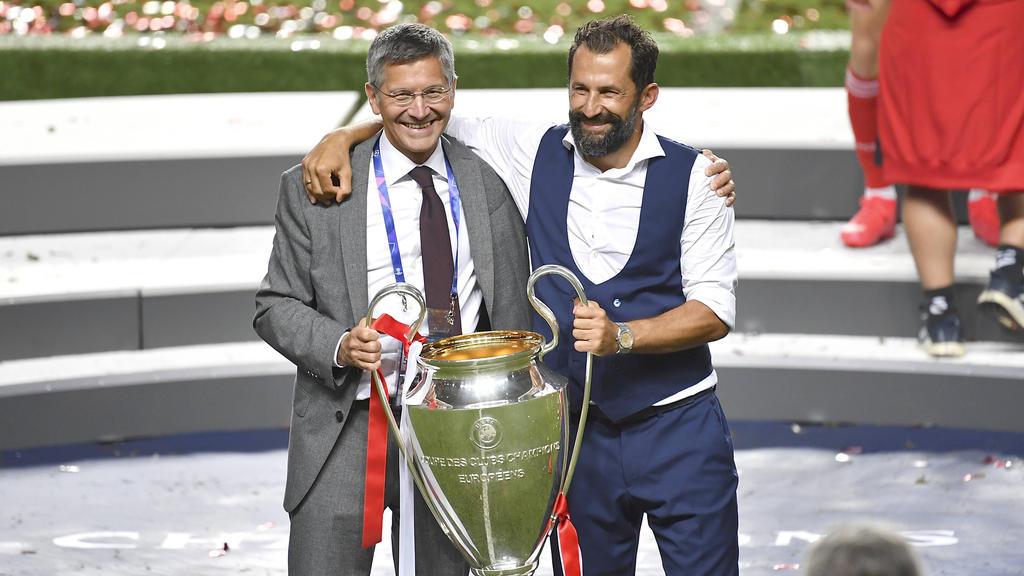 Präsident Herbert Hainer vom FC Bayern hat Sportvorstand Hasan Salihamidzic den Rücken gestärkt