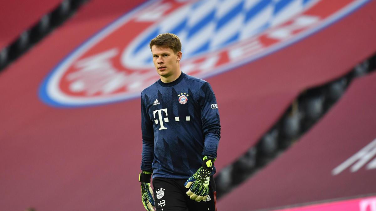 Alexander Nübel vom FC Bayern soll das Interesse des 1. FC Union Berlin geweckt haben