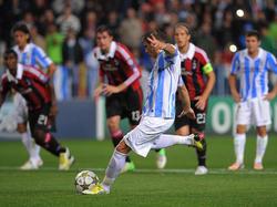 Joaquín vergibt gegen Mailand die Chance zur Führung
