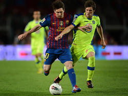 Rubén Pérez konnte Lionel Messi nicht stoppen