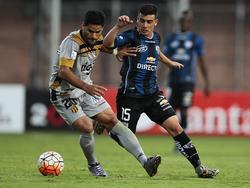 Ecuador gegen Paraguay in den Playoffs der Copa Libertadores