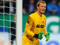 Alexander Manninger im Dress des FC Augsburg