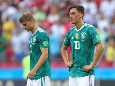 Özil fue muy criticado en Alemania por su pobre rendimiento sobre el terreno de juego. (Foto: Getty)
