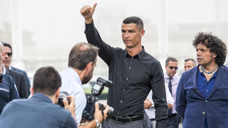 Cristiano Ronaldo startet in ein neues Abenteuer