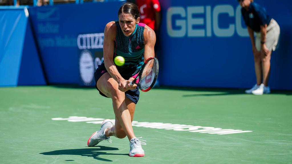 Andrea Petkovic konnte ihr Einzel im Fed Cup nicht gewinnen