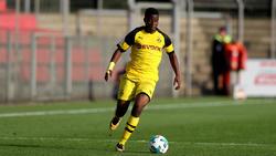 Erzielte gegen den FC Hennef vier Tore: Youssoufa Moukoko