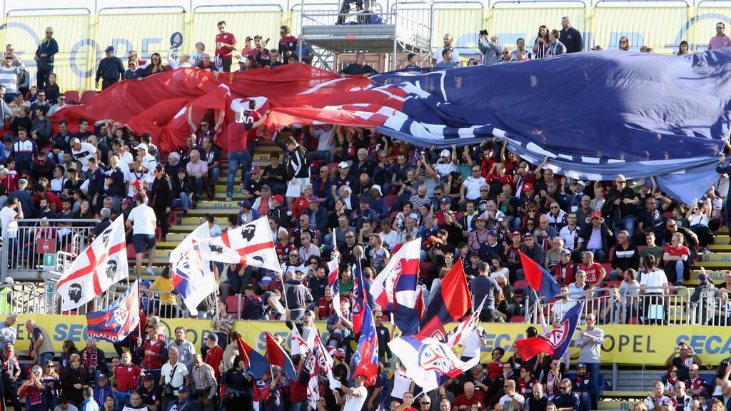 Die Fans des sardischen Serie-A-Klubs Cagliari dürfen sich auch über eine eigene Nationalelf freuen