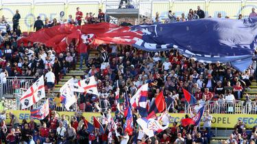 """Die Fans des sardischen Serie-A-Klubs Cagliari dürfen sich auch über eine eigene """"Nationalelf"""" freuen"""