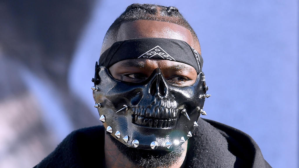 Die Wilder-Maske erinnert an Hannibal Lecter