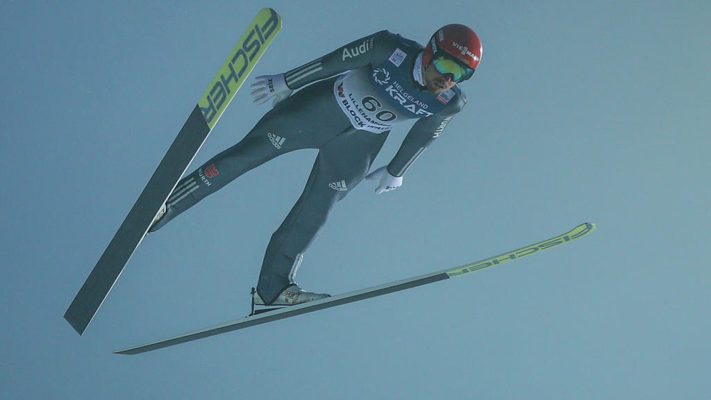 Johannes Rydzek fehlte beim Teamspringen in Lahti