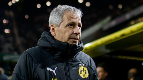 Lucien Favre war nach dem Sieg des BVB in Leipzig sichtlich zufrieden