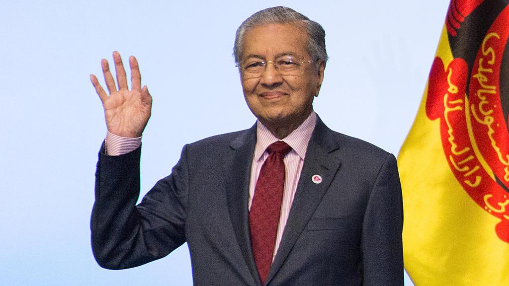 Mahathir Mohamad verurteilt Israel