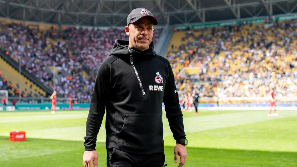 Markus Anfang ist seit Sommer 2018 Trainer des 1. FC Köln