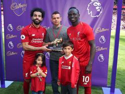 Salah y Mané en una imagen de esta temporada. (Foto: Getty)