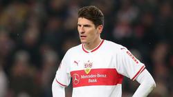 Mario Gomez hat zur Zeit beim VfB Stuttgart wenig zu lachen