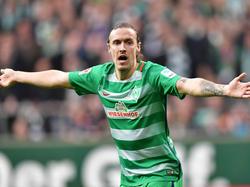 Max Kruse kämpft vor dem Spiel gegen Leipzig mit muskulären Problemen