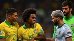 Willian (M.) fehlt Brasilien im Copa-Endspiel gegen Peru
