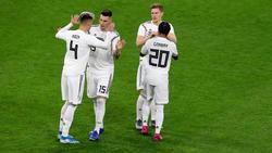 Gnabry, Süle und Co. konnten zwei Tore gegen Argentinien bejubeln