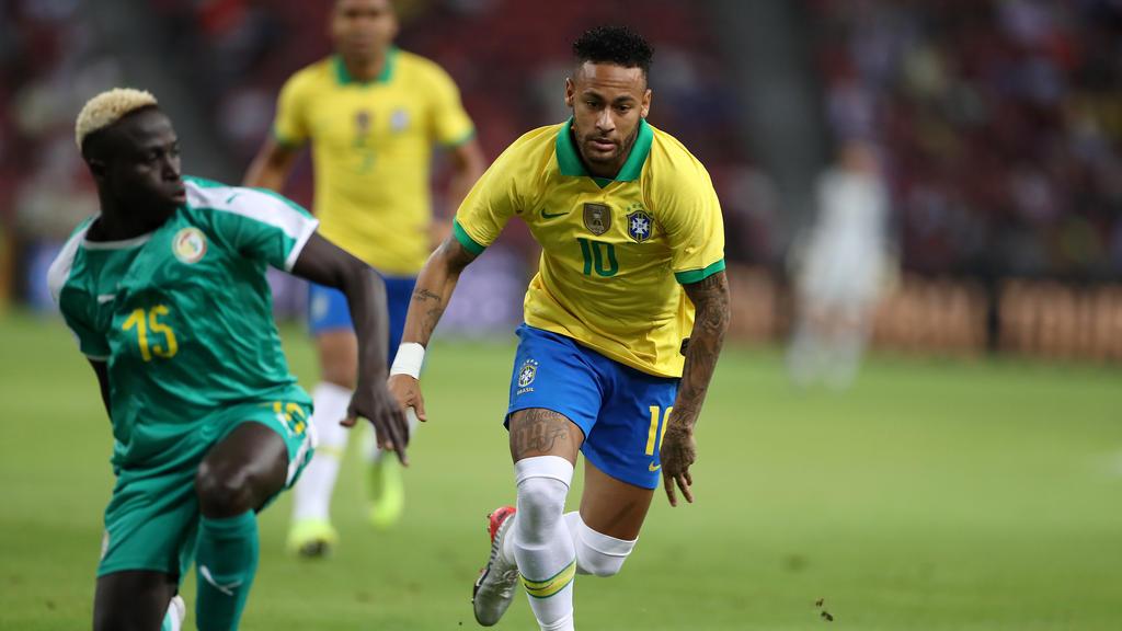 Neymar absolvierte sein 100. Länderspiel