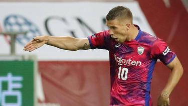 Vissel Kobe verlor mit Lukas Podolski gegen Tokio