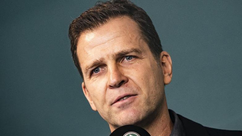 Oliver Bierhoff ist der Direktor der deutschen Nationalmannschaft.