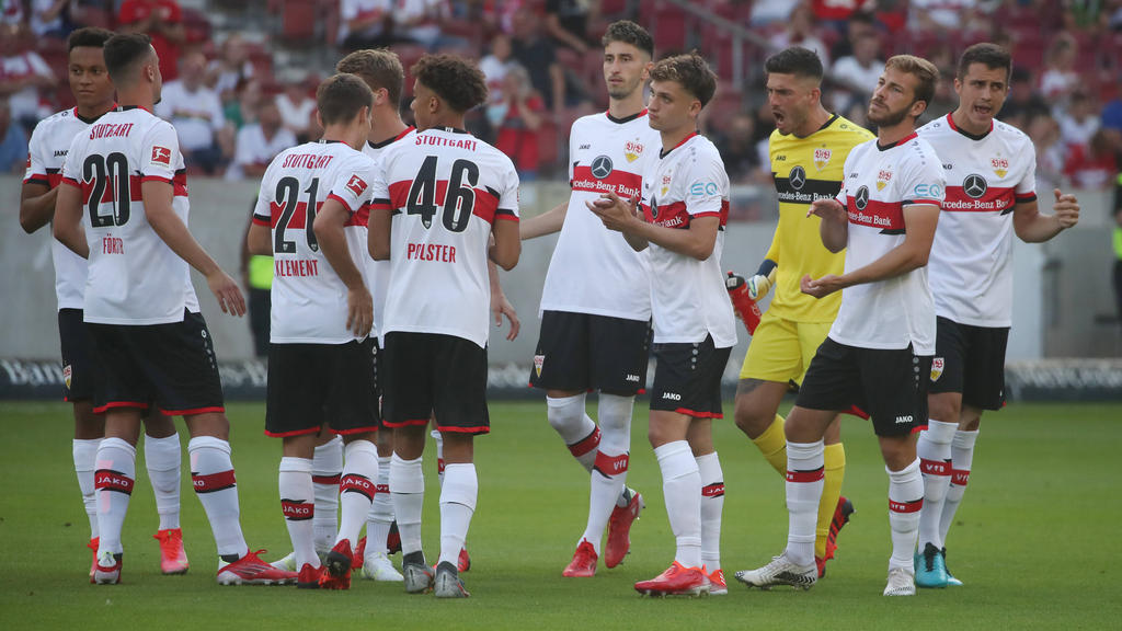 Der VfB Stuttgart musste gegen den FC Barcelona improvisieren