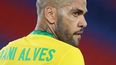 Dani Alves steht ohne Verein da