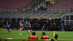 Inter Mailand schlug Ludogorez Rasgrad vor leeren Rängen
