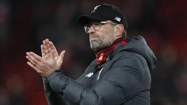 Jürgen Klopp steht mit dem FC Liverpool vor dem Gewinn der Meisterschaft