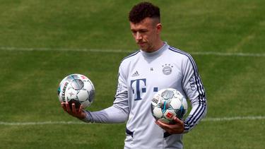 Ivan Perisic ist derzeit von Inter Mailand an den FC Bayern ausgeliehen