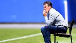 Dieter Hecking und der HSV gehen getrennte Wege