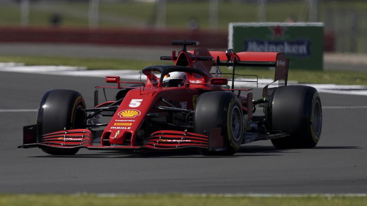 Vettels' Ferrari hatte einen defekten Luftladekühler