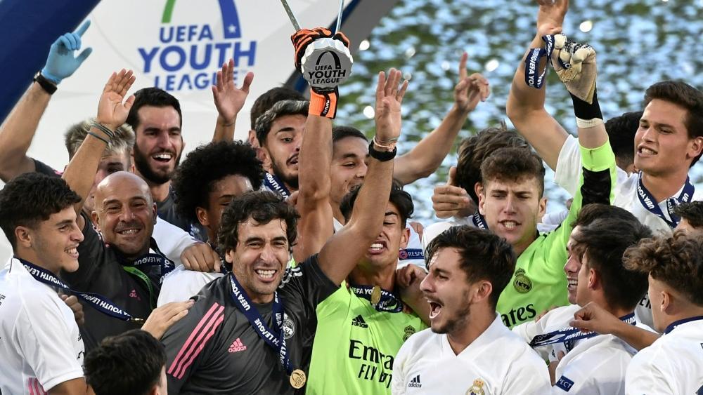 Gewinner der Youth League mit Real: Raul