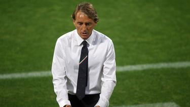 Mancini war mit dem Auftritt seiner Mannschaft nicht zufrieden