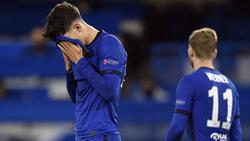 Kai Havertz (l.) und Timo Werner spielten mit Chelsea nur Remis