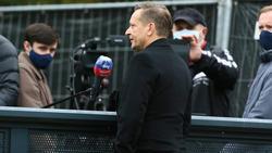 Horst Heldt war mit dem Auftritt gegen den FC Bayern zufrieden